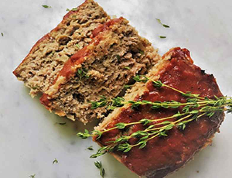 Applesauce Turkey Meatloaf
