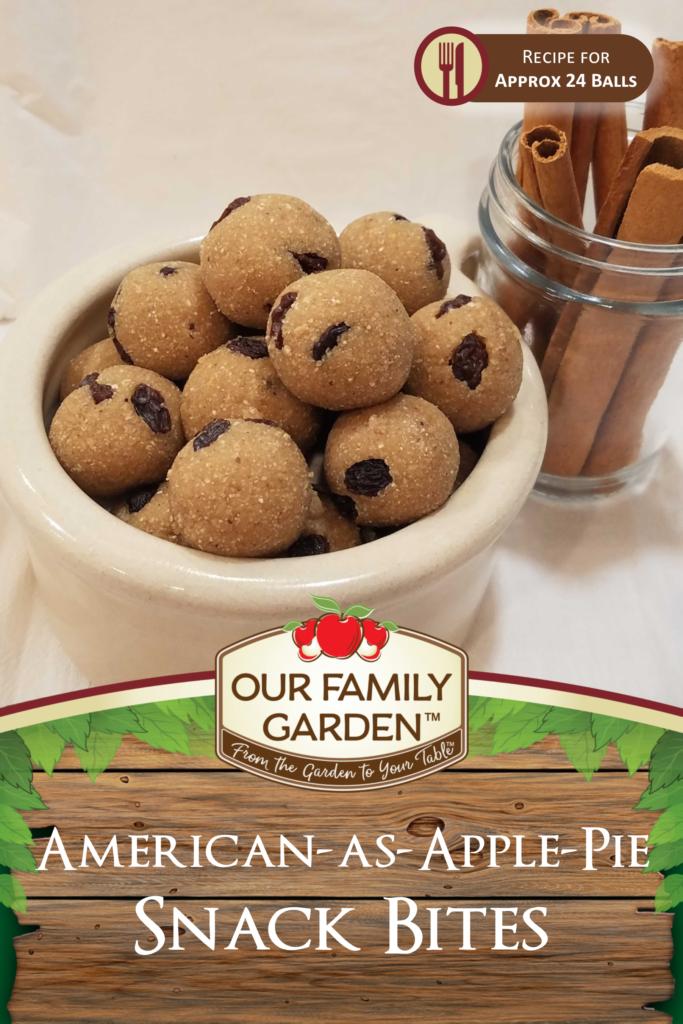 American-as-Apple-Pie Snack Bites