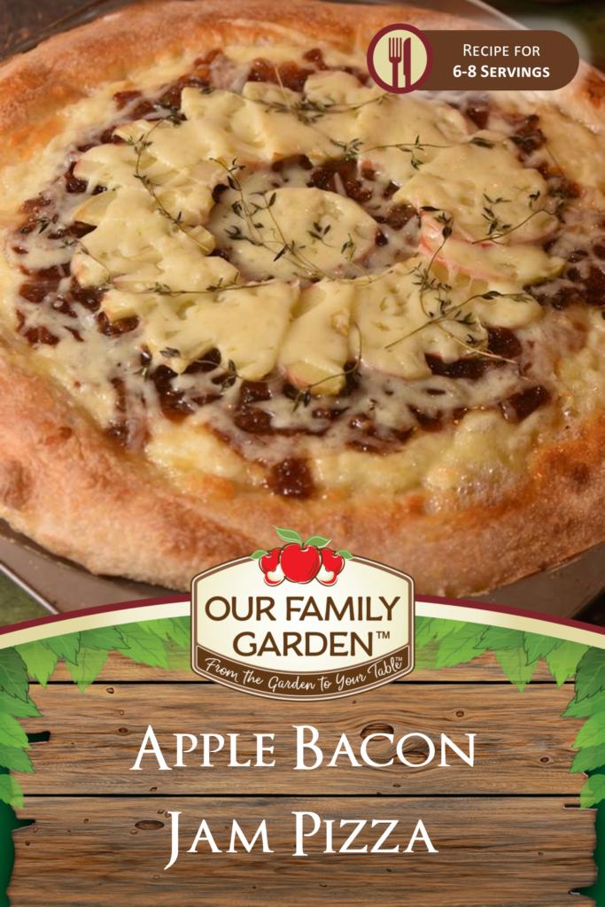 Apple Bacon Jam Pizza