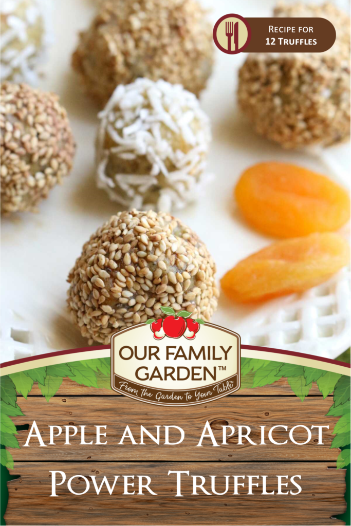 Apple and Apricot Power Truffles