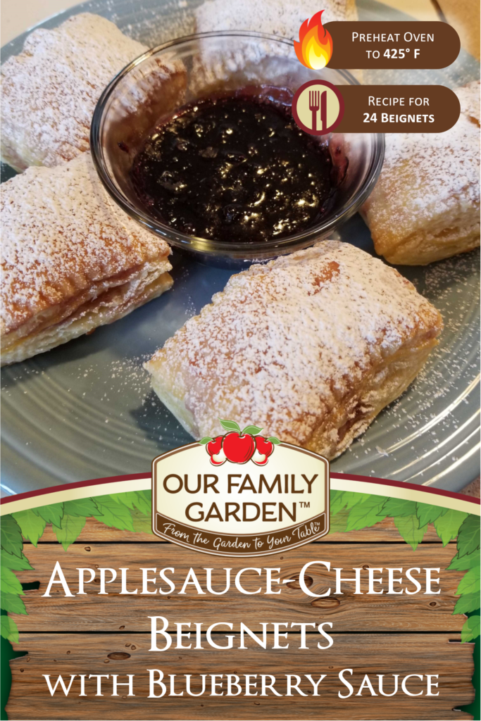 Applesauce-Cheese Beignets