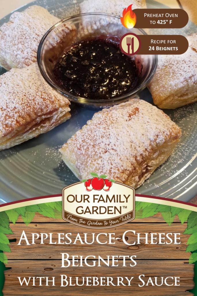 Applesauce-Cheese Beignets