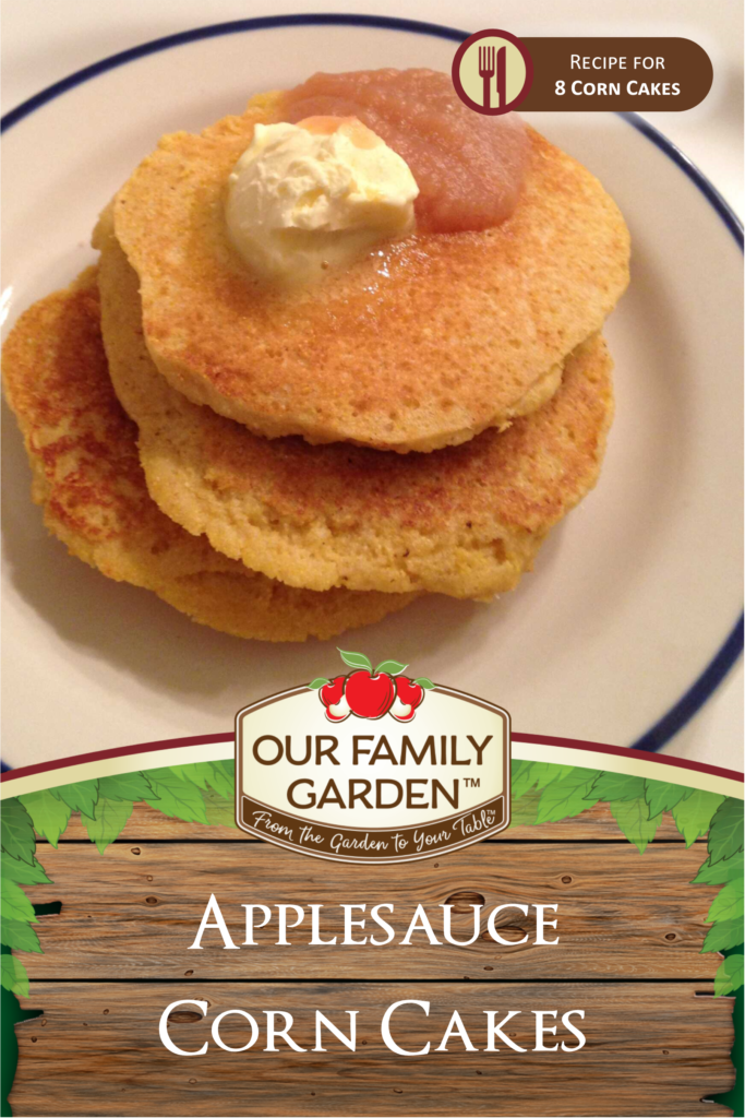 Applesauce Corn Cakes