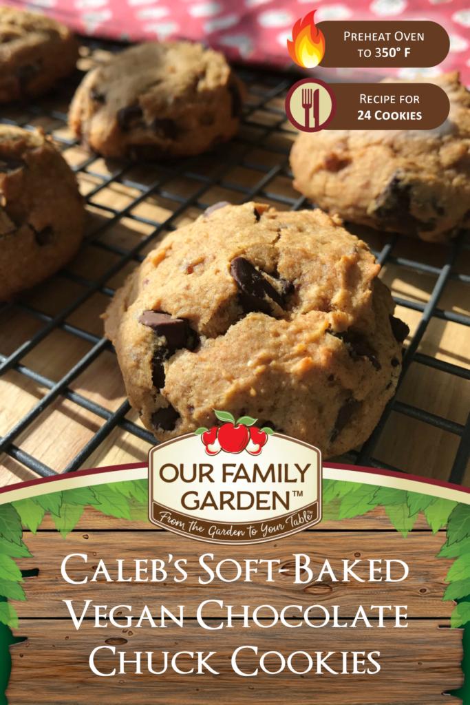 Caleb's Soft-Baked Vegan Chocolate Chunk Cookies