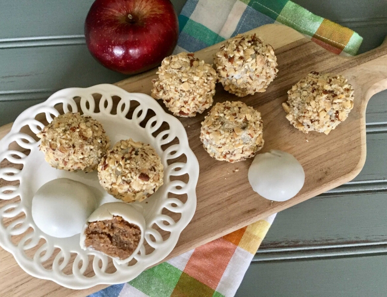 Apple Spice Cake Truffles