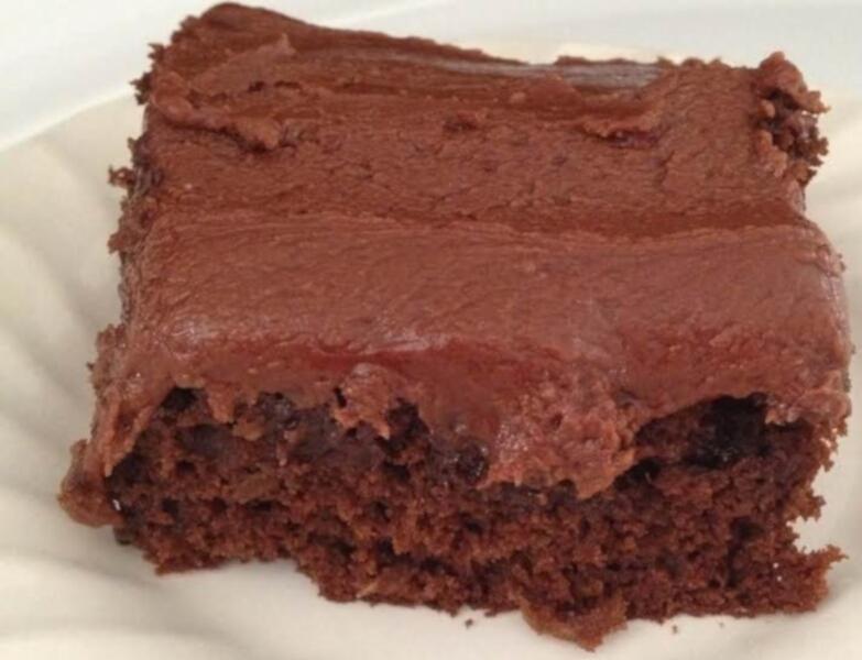 Chocolate Applesauce Sauerkraut Cake