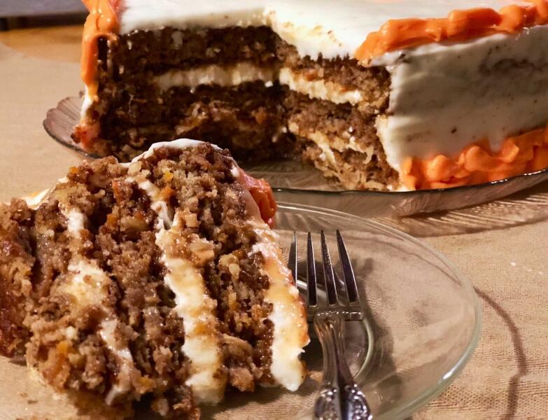 World's Moisted Gluten Free Carrot Cake