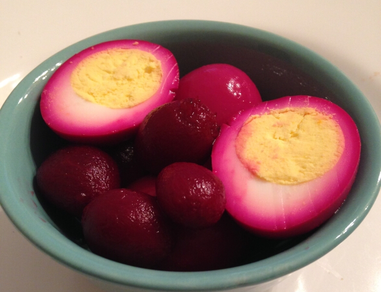Springtime Pickled Beets and Eggs