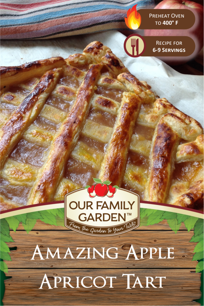 Amazing Apple Apricot Tart