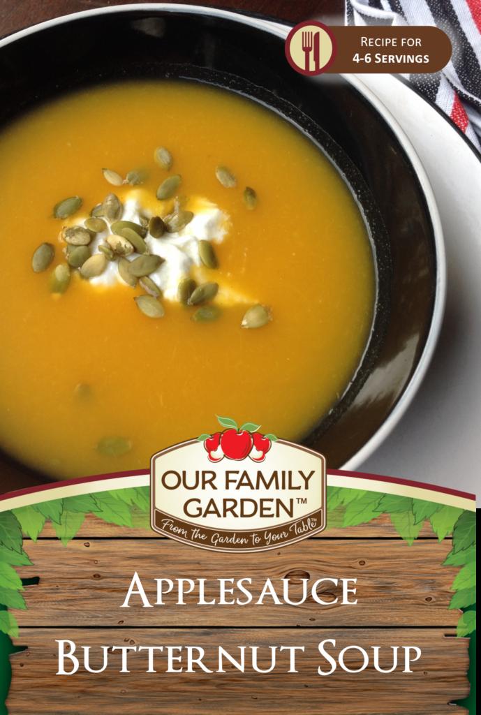 Applesauce Butternut Soup