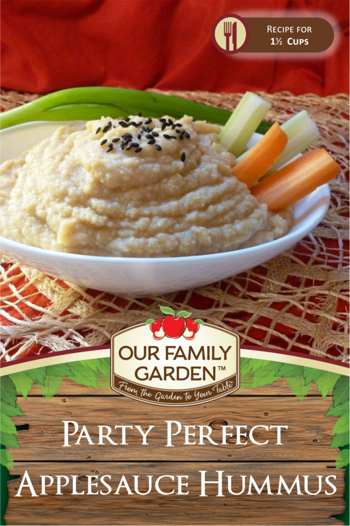 Party Perfect Applesauce Hummus