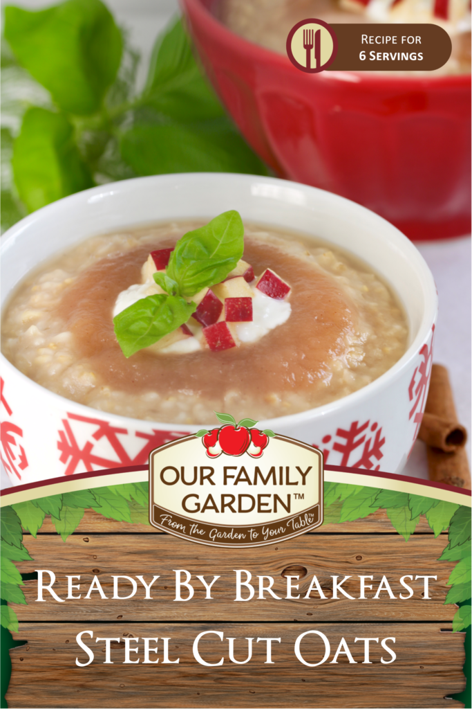 Ready By Breakfast Steel Cut Oats